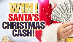 Win $3,000 Cash & More From Santa's Christmas Cash - ends 12/14