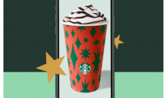 FREE Starbucks Drink Coupon with Beverage Purchase on 11/30