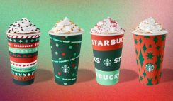 FREE Starbucks Reusable Holiday Cups - 11/6 - Today!