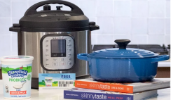 Win an Instant Pot, Le Creuset Dutch Oven and Stonyfield Skinnytaste Prize Pack - ends 11/22
