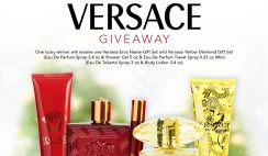 Win a Versace Eros Flame & Yellow Diamond Fragrance Gift Sets from FragranceNet - ends 11/30
