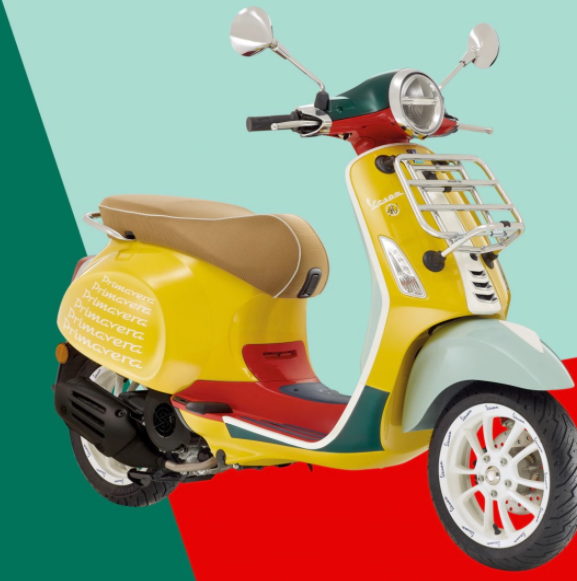 Vespa Scooter from Natty Daddy