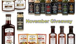 Win a Watkins Baking Vanilla & Spice Collection - ends 11/30