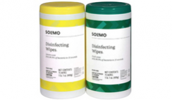 Solimo Disinfecting Wipes 2-Pack Deal