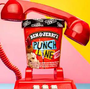 Punch Line Ice Cream