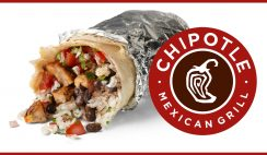 FREE Chipotle Burrito on New Year's Eve - First 21,000!!
