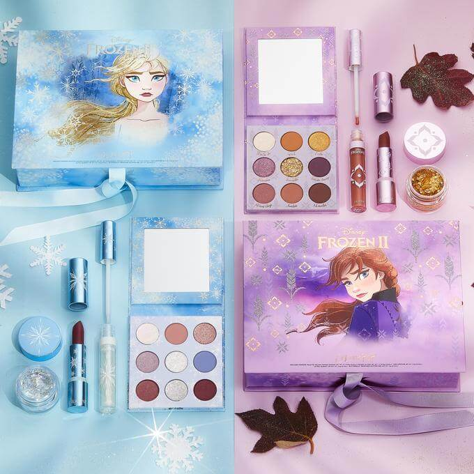 frozen colourpop cosmetics