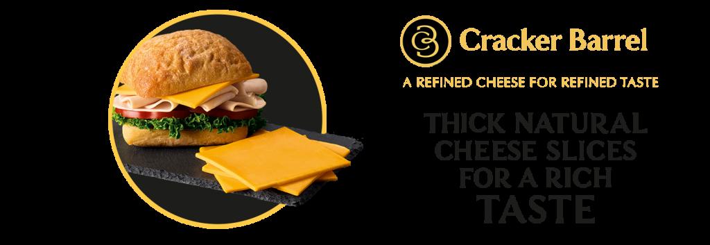 Black Ribbon Sliced Cheese