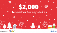 Win $2,000 Cash From DealNews x Ebay - Enter Daily - ends 12/31