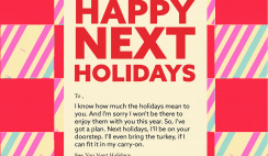 Win a $25k Vacation Next Year in the Hot Wire Happy Next Holidays Sweeps