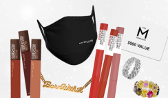Win 1 of 111 Maybelline & M Jewelers Holiday Winter Glam Prize Sets ($5K Value) - ends 12/20