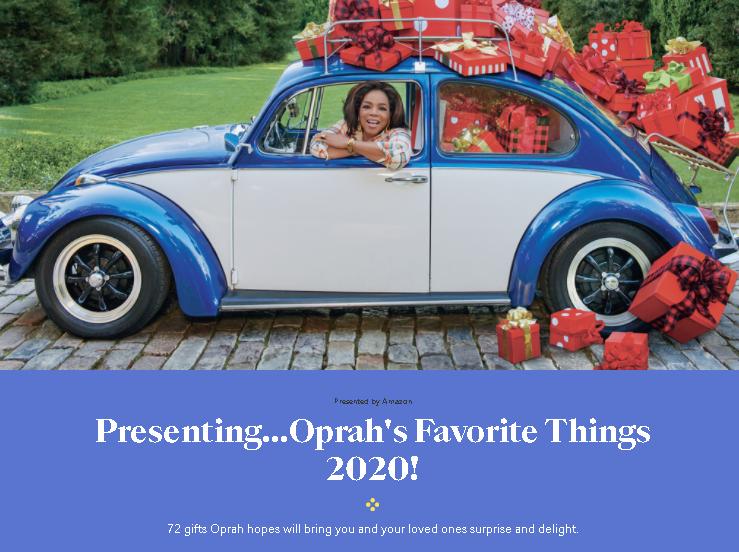 Oprah's 72 Favorite Things