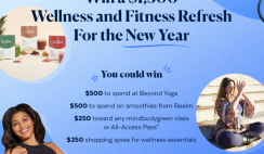 Win a $1,500 Wellness and Fitness Refresh Giveaway