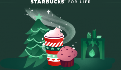 Win the Starbucks For Life 2020 Giveaway - Instant Win Game - Daily Entry - ends 1/4/21
