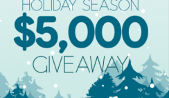 Win 1 of 5 $1,000 Cash Prizes from Toner Buzz - ends 12/15