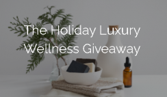 Win a $1,500+ Holiday Luxury Wellness Prize Bundle from Üphoric Urth - ends 12/26