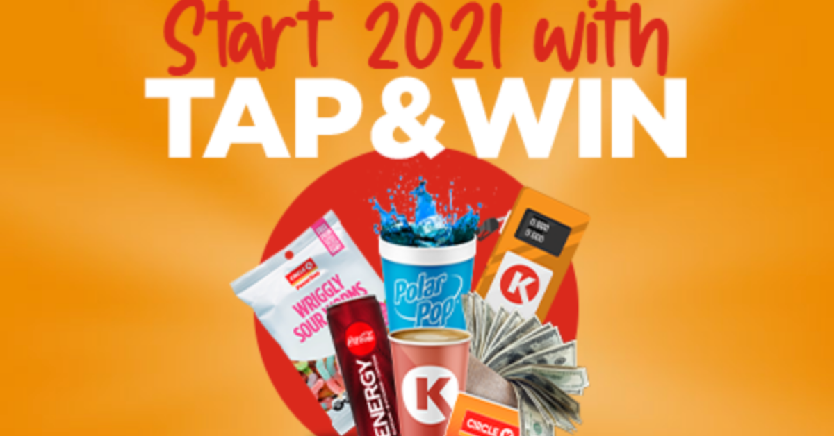 2021 Circle K Tap and Win Instant Win Game