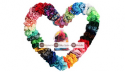 50 Pcs Hair Scrunchies Deal