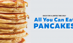 All You Can Eat Pancakes Is Back At IHop
