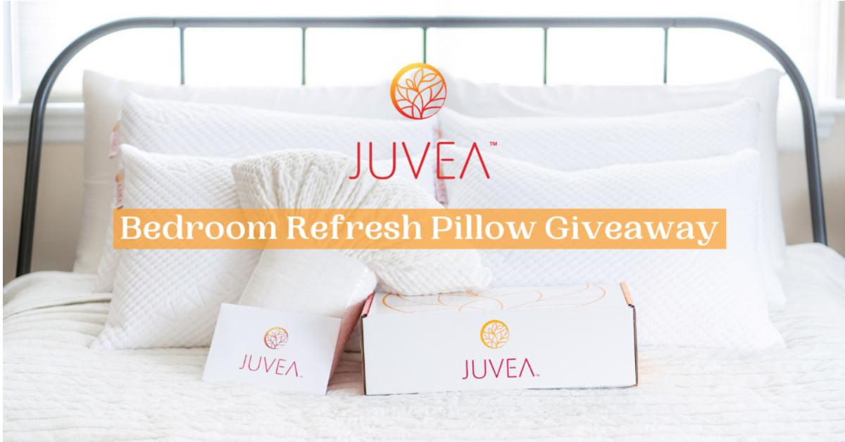 Bedroom Refresh Pillow Giveaway