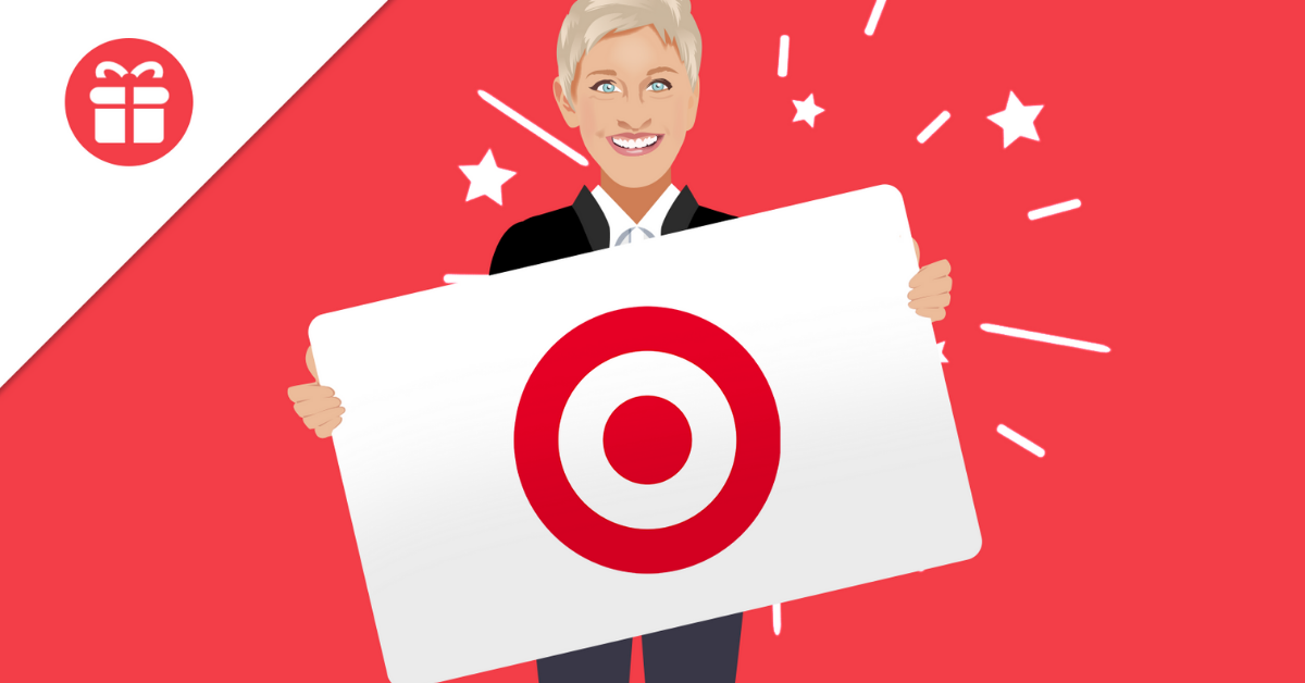 Ellen $300 Target Gift Card Giveaway