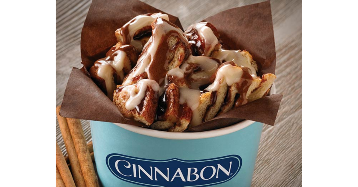 FREE Cinnabon Center of the Roll at Pilot Flying J Travel Centers