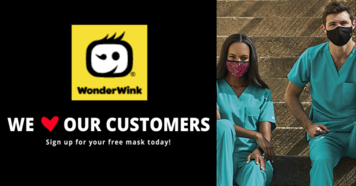 FREE Face Mask For Healthcare Workers