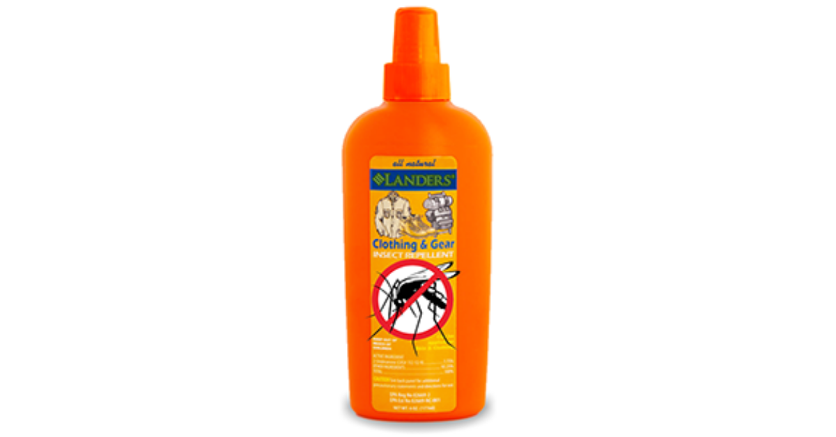 FREE Landers All Natural Insect Repellent