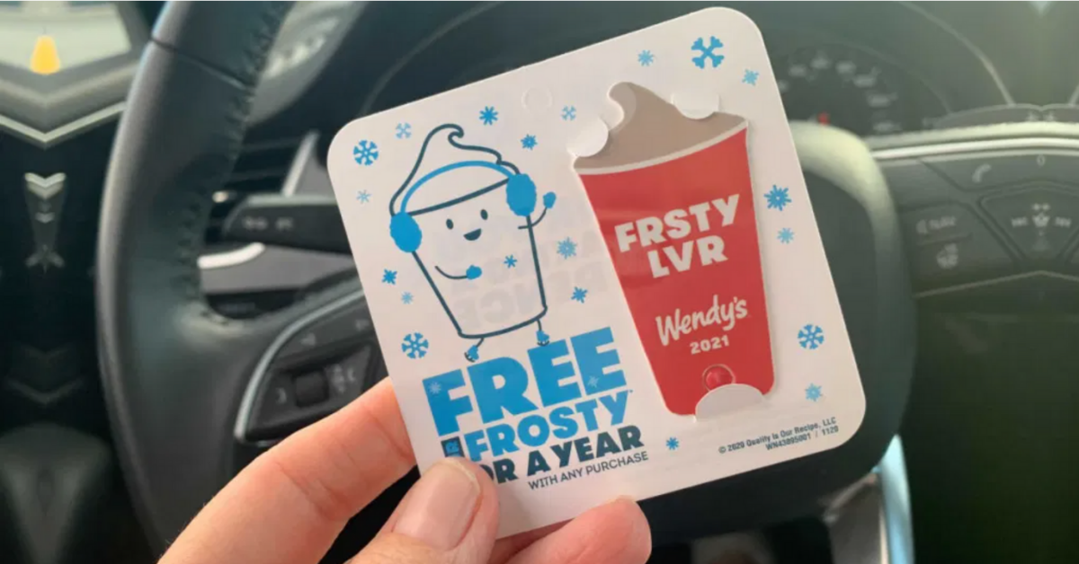 FREE Wendys Frostys For A Year