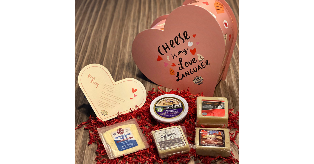 For the Love of Cheese Sweepstakes