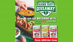Green Giant Fresh Game Day Giveaway