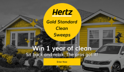 Hertz Gold Standard Clean Sweeps
