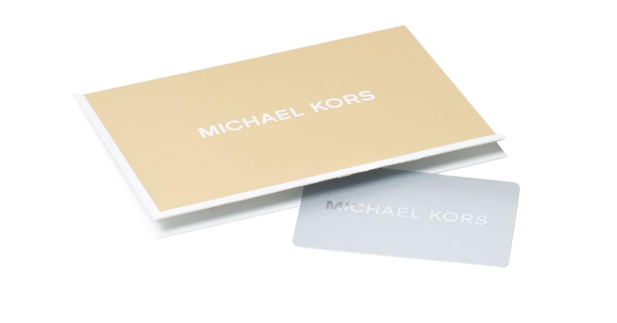 Michael Kors Gift Card Giveaway