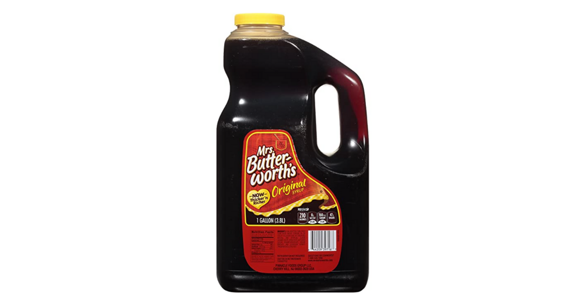 Mrs Butterworths Syrup 128 Fl Oz Deal