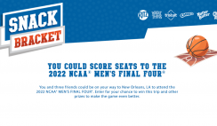 Nabisco Snack Bracket Instant Win Game and Sweepstakes