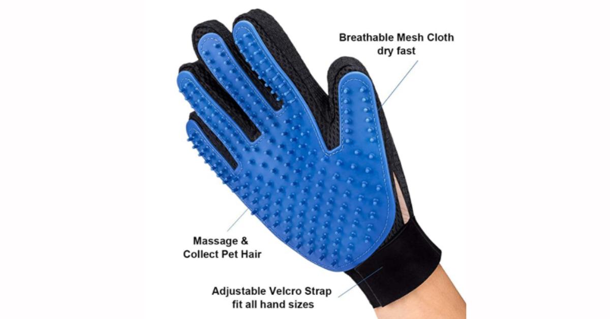 Pet Hair Remover Glove Deal