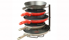 Pot and Pan Holder Rack Deal