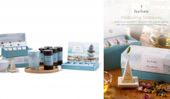 Tea Forte Wellbeing Giveaway