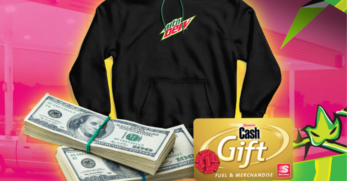 Year of Dew Daily Pit Stop Instant Win Game