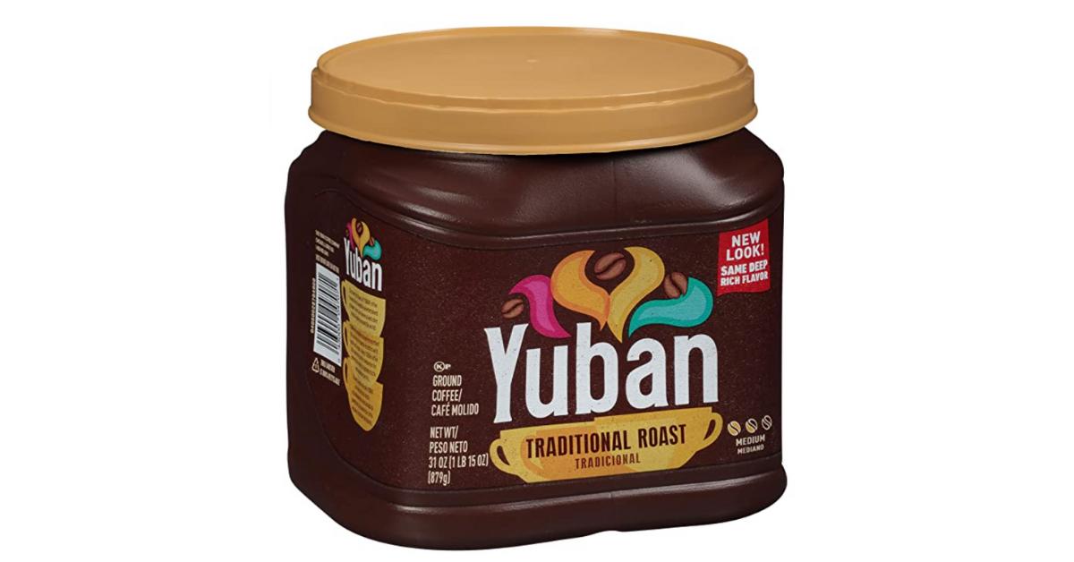 Yuban Traditional 31oz Medium Roast Ground Coffee Deal