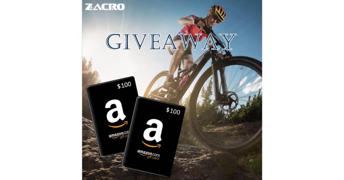 Zacro Amazon Gift Card Giveaway