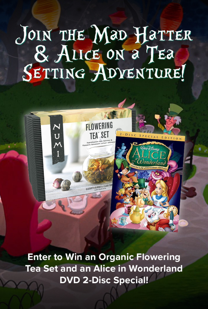 Mad Hatter Tea Set Giveaway