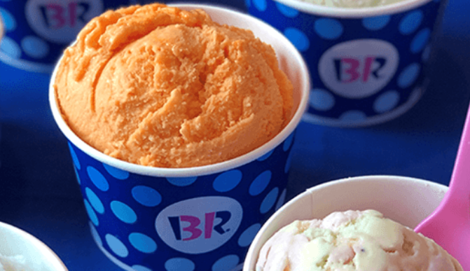 FREE Baskin-Robbins Ice Cream