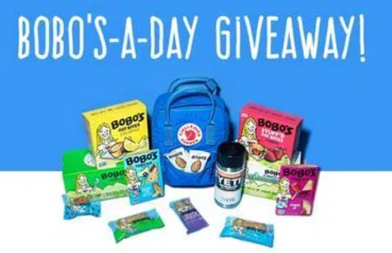 Bobo's For a Year Giveaway