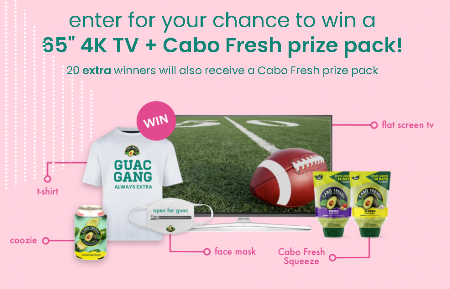 Cabo Fresh Extra Giveaway