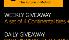 Continental Tire Winter Giveaway