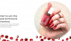 essie Birthstone Series 2021 Sweepstakes