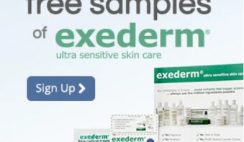 FREE Exederm Skincare Products