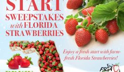 Win the $500 Farm Star Living Fresh Start Giveaway with Florida Strawberries - Enter Daily!