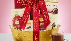 Godiva Valentines Basket Giveaway